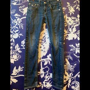 True Religion Skinny Jeans Size 28